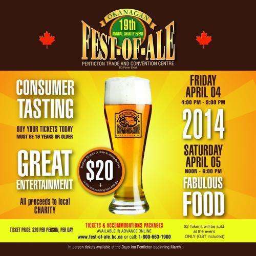 Okanagan Fest of Ale - Penticton BC