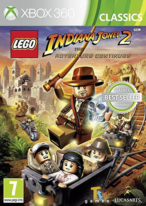 Lego Indiana Jones 2 - The Adventures Continues Per Xbox 360
