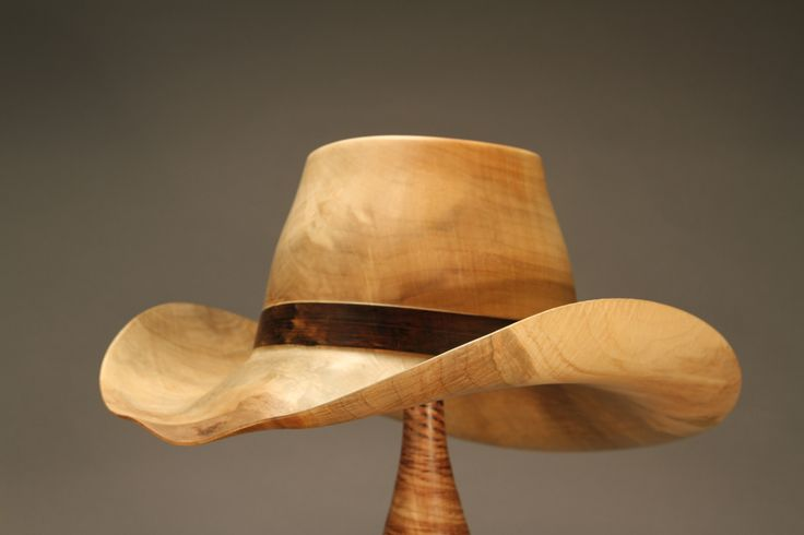 Best johannes michelsen turned wood hats images on