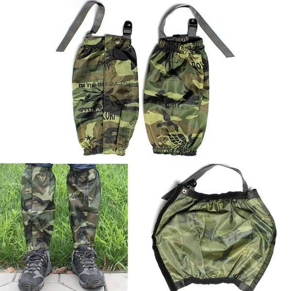 Waterproof Racing Walking Hiking Gaiters Camouflage Boots Covers  Worldwide delivery. Original best quality product for 70% of it's real price. Buying this product is extra profitable, because we have good production source. 1 day products dispatch from warehouse. Fast & reliable...