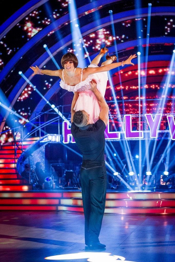 Flavia Cacace & British Olympic gymnast Louis Smith – Strictly Come Dancing BBC – Photographer: Guy Levy