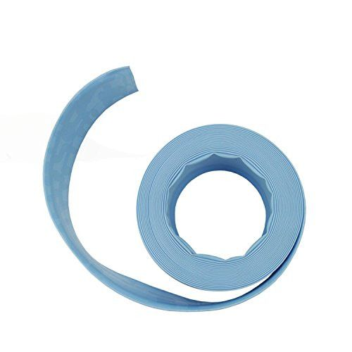 Felices Pascuas Collection Light Blue Swimming Pool Filter Backwash Hose - 50' x 1.5 inch