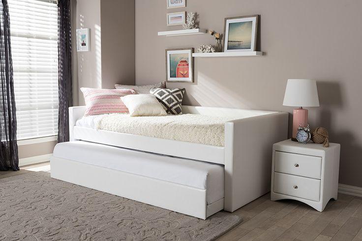 25 best ideas about upholstered daybed on pinterest corner headboard traditional bed. Black Bedroom Furniture Sets. Home Design Ideas