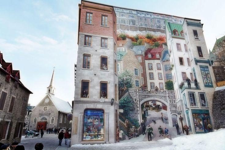 Champlain et le Vieux Québec en visite virtuelle | 360° Panoramas
