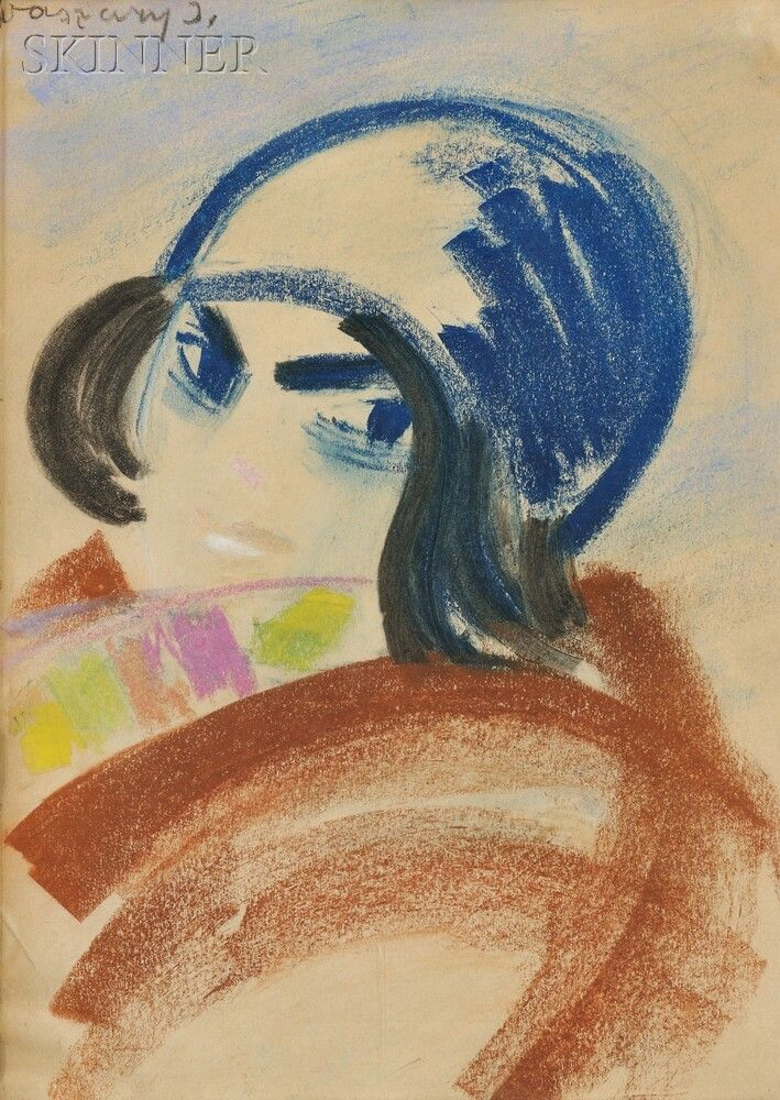 Janos Vaszary (Hungarian, 1867-1939), Kalapos lány [Girl with Hat] Auction 2728B | Lot 606 | Sold for $5,000