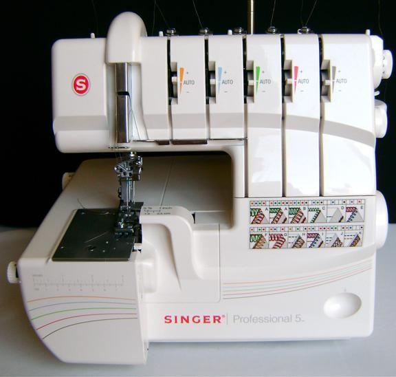 singer professional 5 thread serger machine reviews