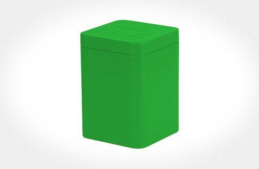 Medium Coloured Tin - Green | T2 Tea