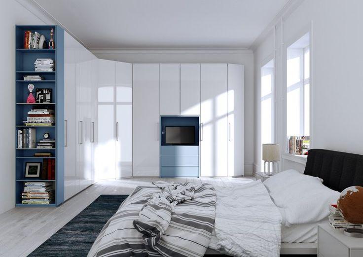 Oltre 25 fantastiche idee su armadio angolare su pinterest - Lo trovi sotto il letto ...