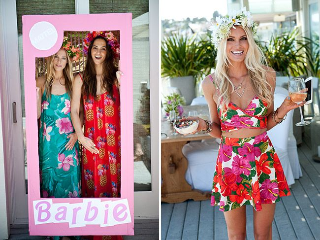 Green Wedding Shoes created a how-do on throwing the ultimate Barbie bridal shower, featuring our very own Cologne!