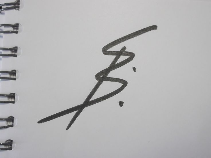 Style-monogram for 'BS' (Brain Storming)
