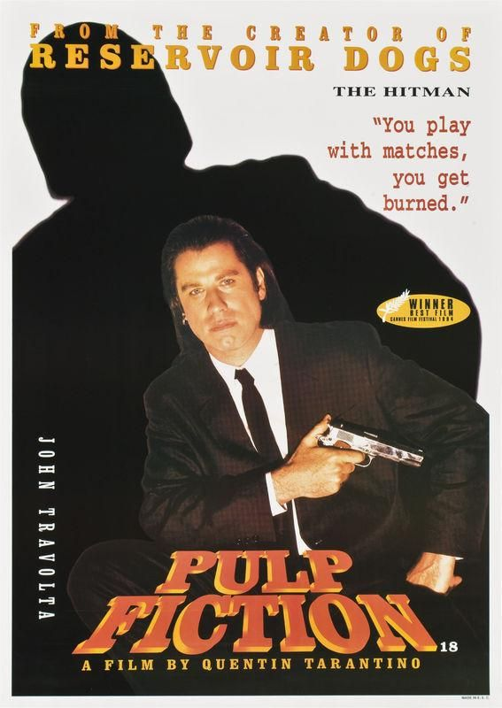 Pulp Fiction - John Travolta - Mini Print