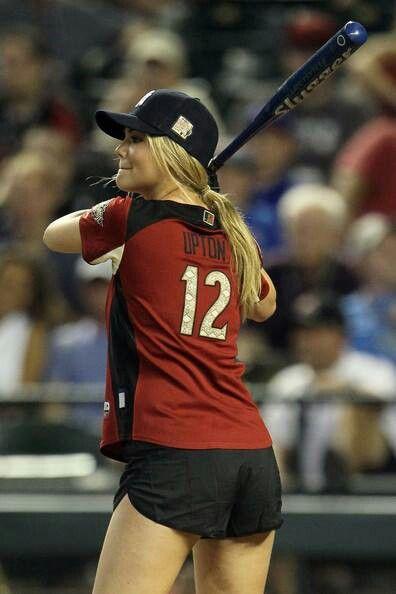 Baseball with Kate Upton