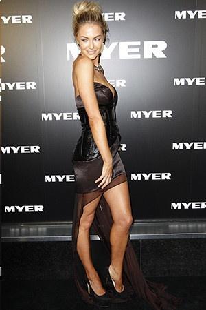 Jen Hawkins dress  Nicola Finetti
