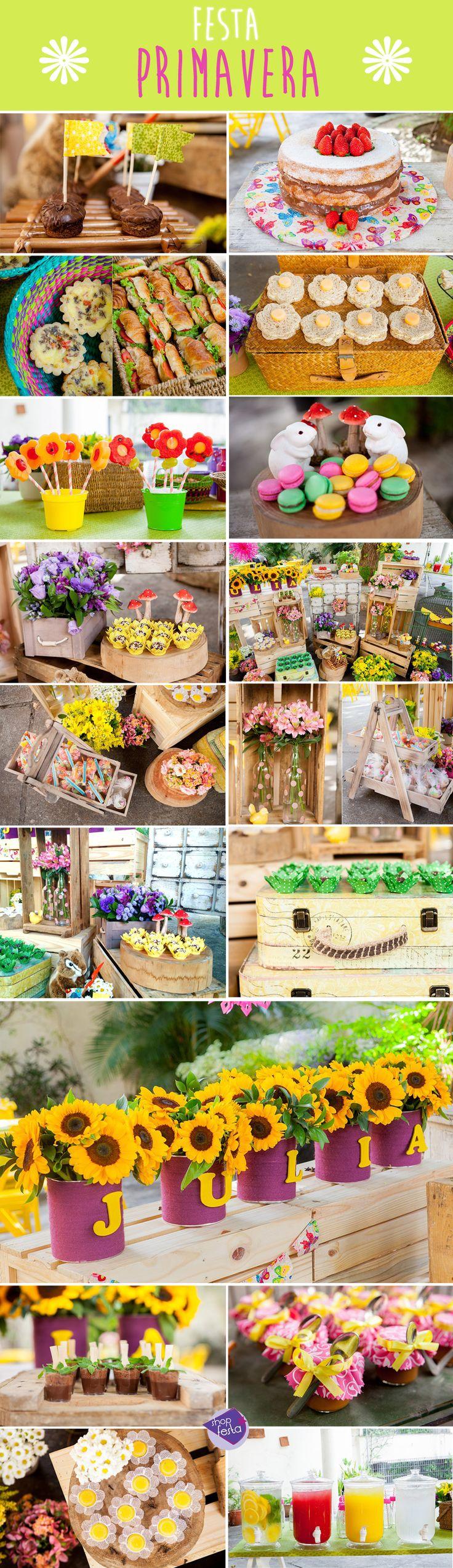 Festa Primavera | Shopfesta.A Júlia é uma menina que adora estar em contato com…