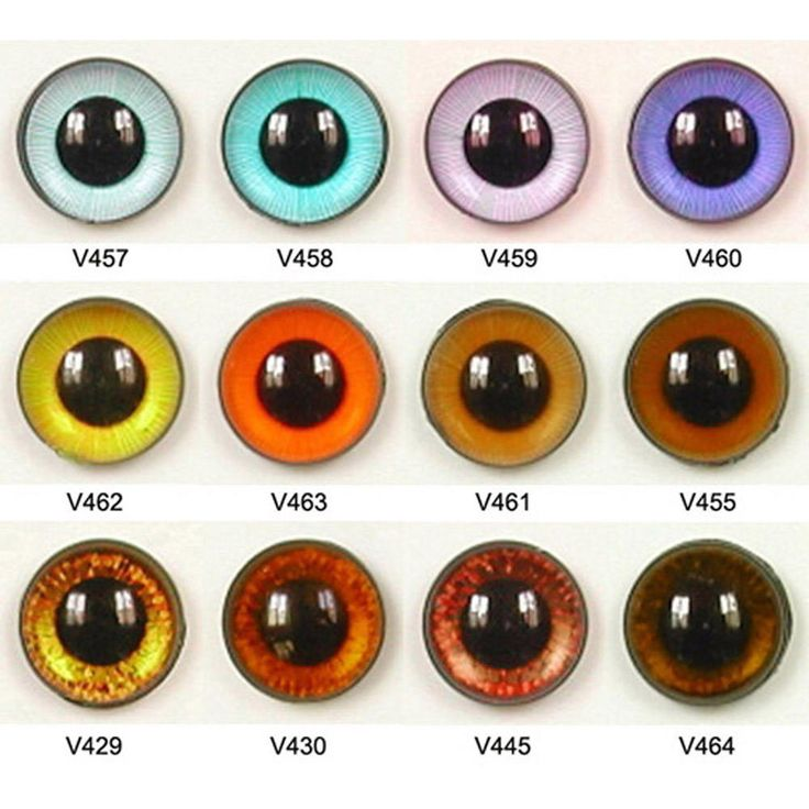 1 Pair 16mm Article V Plastic Safety Eyes Available in 12 Colours Round Pupils Teddy Bear Doll Puppet Plush Toy Stuffed Animal Plushie Craft by ShamrockRose on Etsy