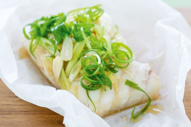 Fish parcels with shallots recipe @recipesfornet