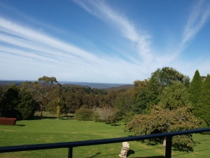 Lunch view at Solar Springs Restaurant Southern Highlands