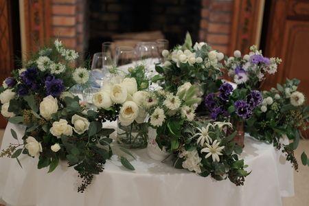 冬の装花 リストランテASO様へ ナチュラル&ヴィンテージの画像:一会 ウエディングの花