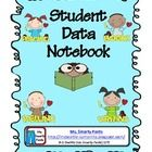 This is a student data notebook. Students will be tracking problems correct, not percentages.  Included are recording graphs, increments of 10, 15, ...