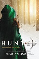 """Meagan Spooner - Hunted, review on The Daily Prophecy. 4.5 out of 5 stars. Fairytale retelling. YA.   Oh my! You are probably aware of my undying love for Beauty and the Beast, so I'm happy to say this is a worthy retelling. I LOVED every single moment and I already can't wait to buy a hard copy, so I can re-read it."""""""