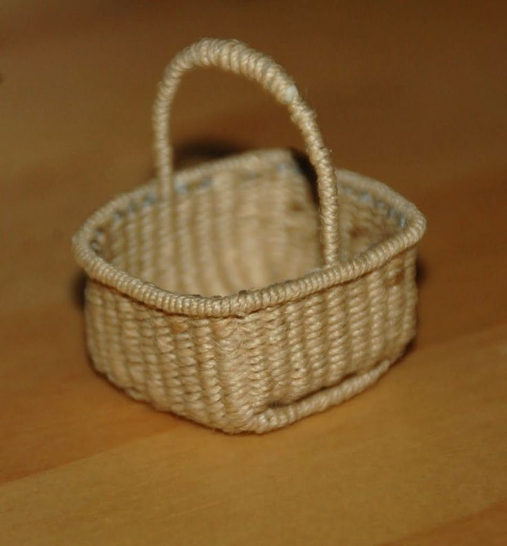 How To Weave A Mini Basket : Images about basketweaving miniature tutorials