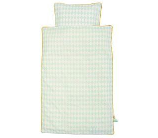 donsovertrek Harlequin mint - beddengoed - slapen en verzorging - Ferm Living - Lunabloom - ...