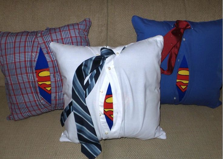 Superman Pillow - Great Father's Day gift for a superhero fanatic!