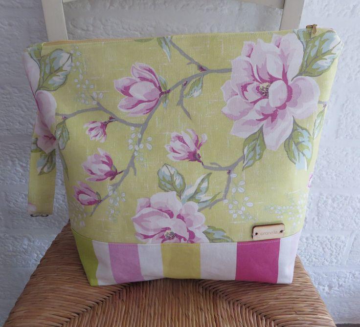 "Project bag ""Lente"".  - - SOLD - -"