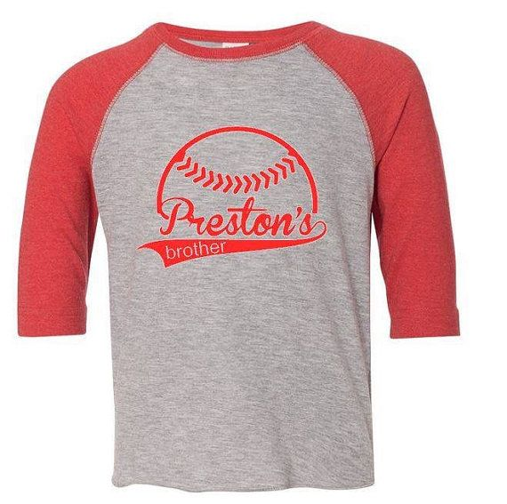 8 best images about little boy luke has spirit on Designer baseball shirts