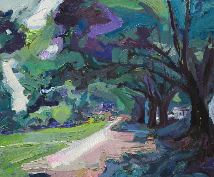 Southern highlands just over the hills lies a paradise of for Oil art for sale