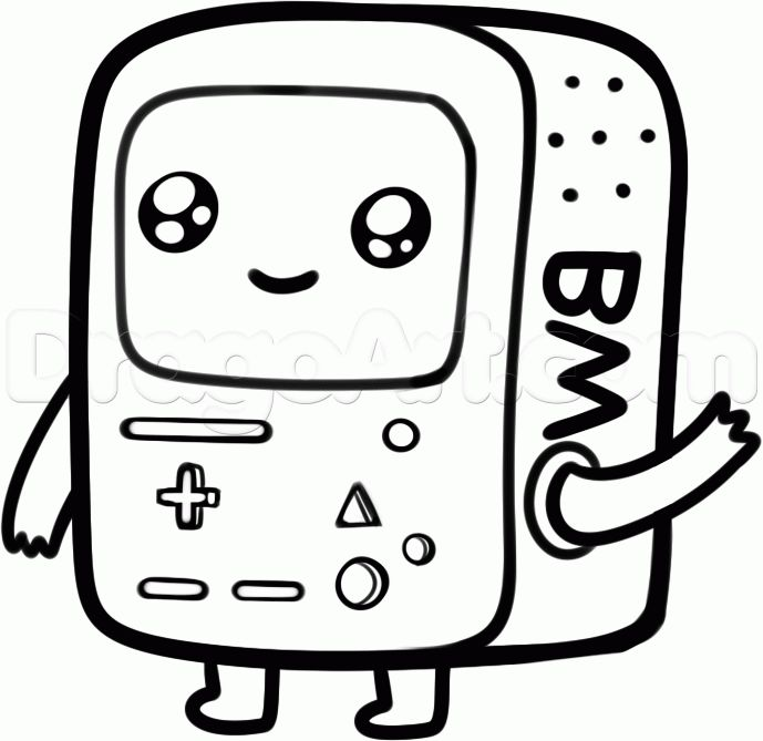 adventure time coloring pages beemo - Pesquisa Google