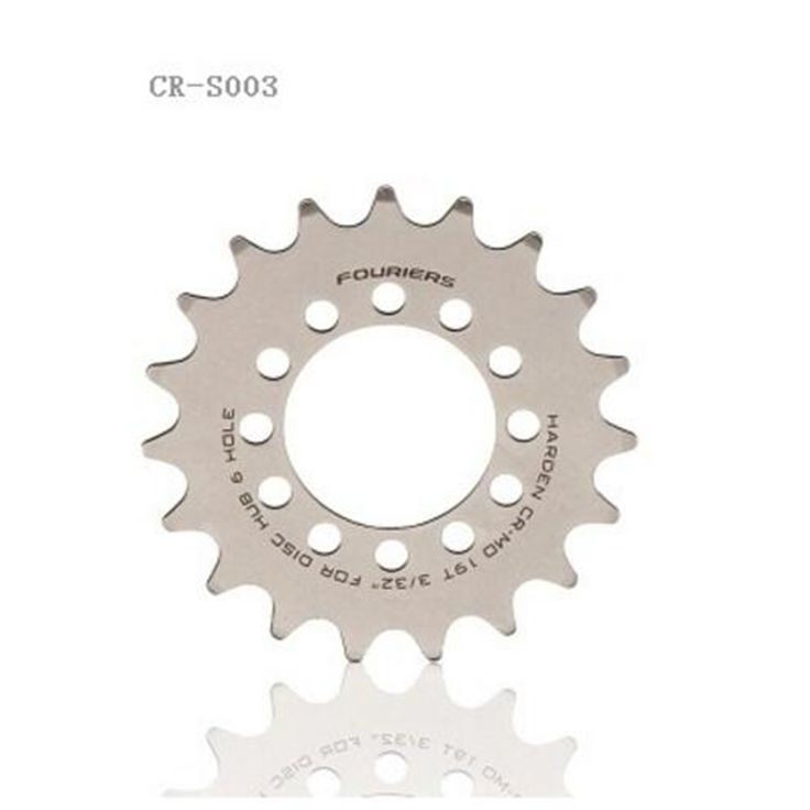 FOURIERS Bicycle fixed gear Freewheel 16T-23T Single Speed Freewheel BMX Flywheel Sprocket Gear Bicycle Accessories