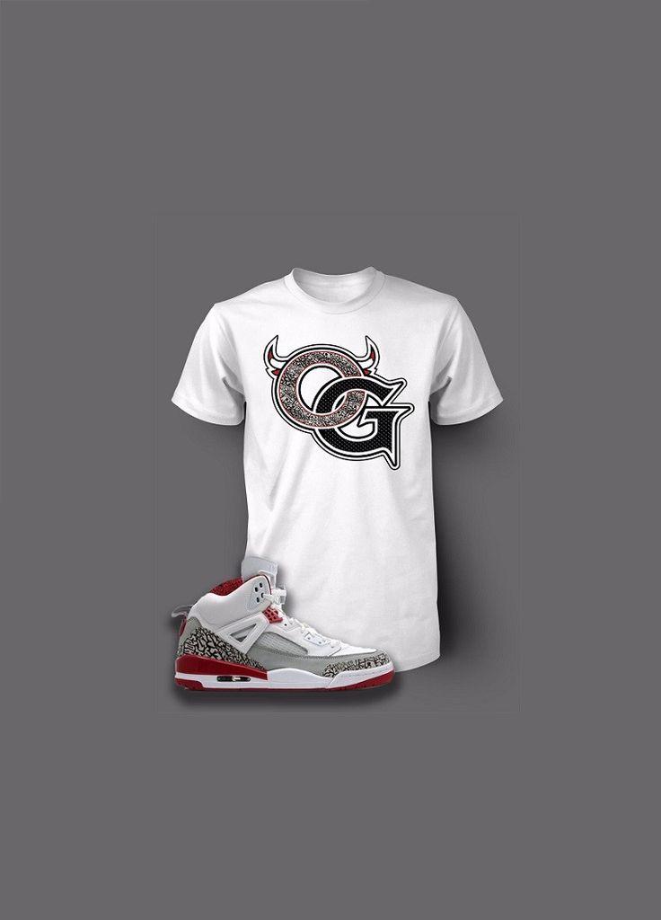 78ef2690fc80 ... custom og pro club graphic t shirt to match retro air jordan spizike ...