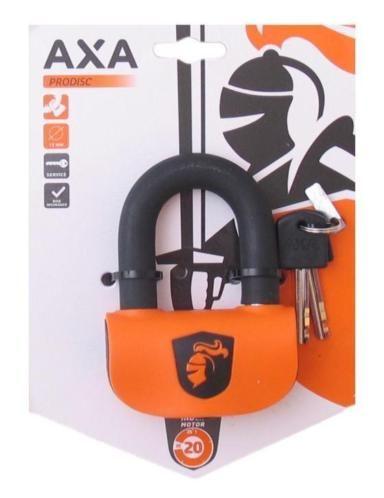 De AXA Prodisc is een schrijfremslot die met haar compacte en opvallende design maximale beveiliging biedt.