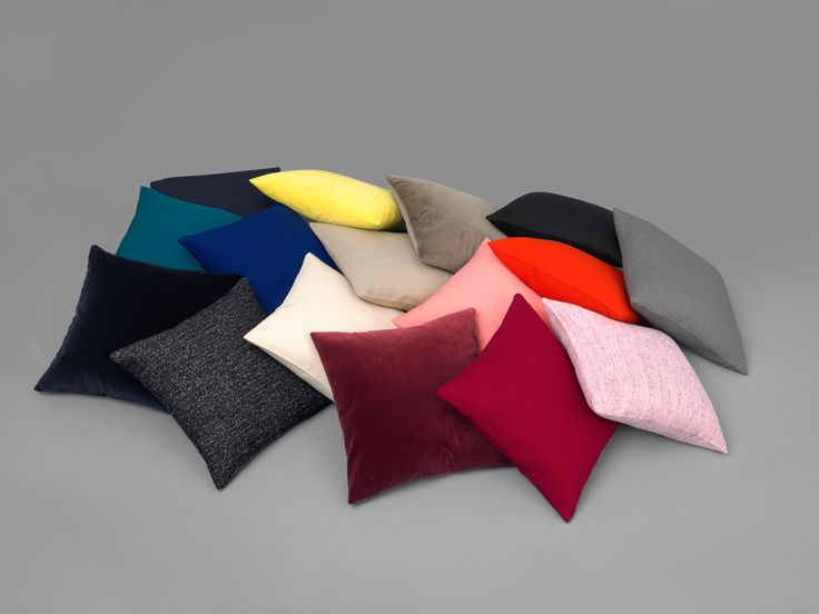 Cushions by Kvadrat X Raf Simons for Schoenbuch