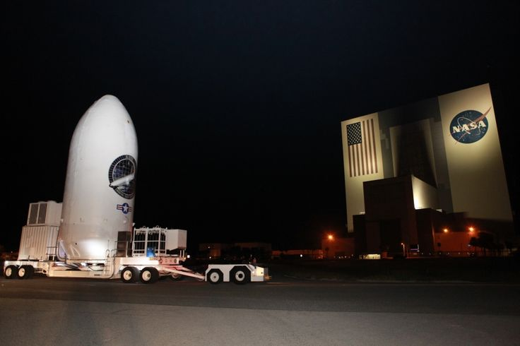 Photos: Military mini-shuttle transferred to SpaceX launch pad – Spaceflight Now