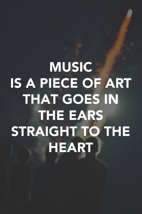 Funny Quotes On Music Lovers : ... music and art new music music love quotes music sayings music quotes