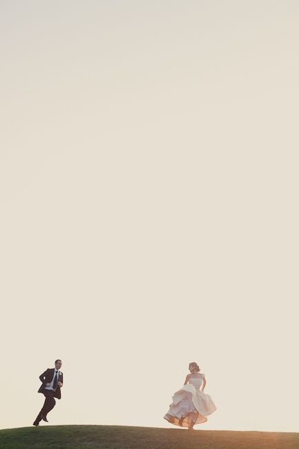 Seriously, one of the best wedding photos ever. So dreamy. By Brooklyn-based photographer Fiona Conrad.