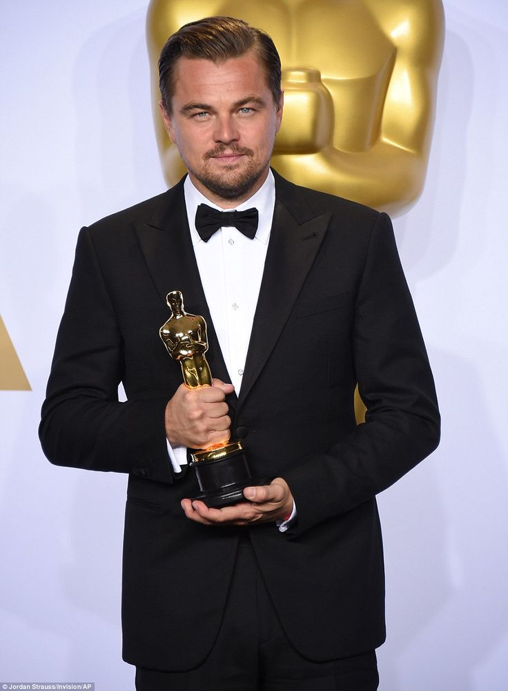 Man in waiting:Oscar gold has previously eluded the celebrated star, who has won plenty o...