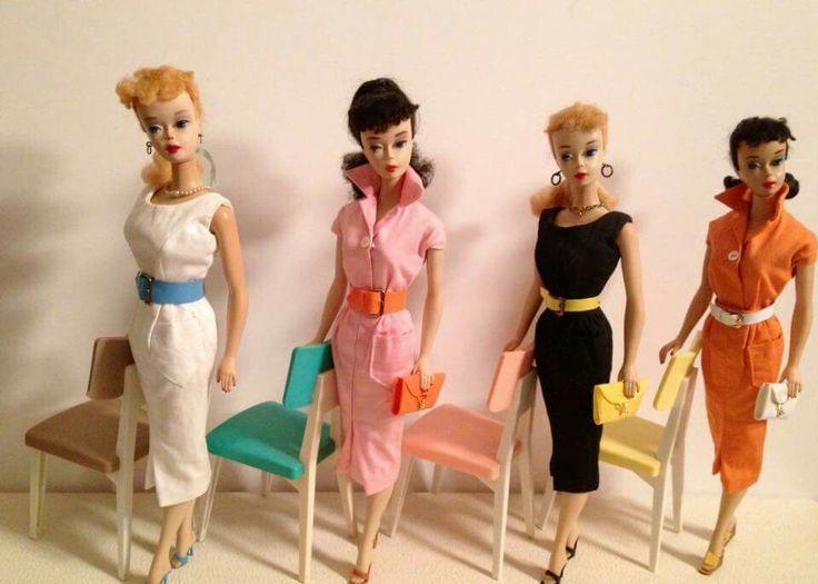 Fashion Pak separates modeled by Nov. 3 Ponytail Barbies