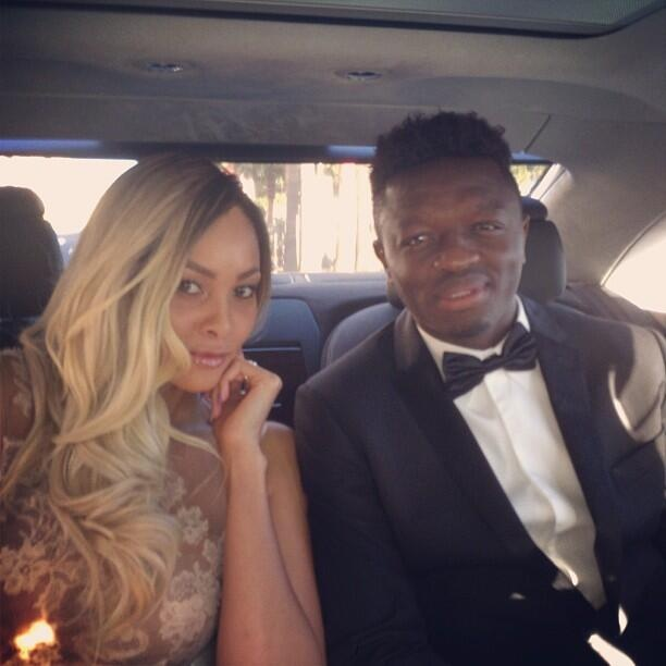 Muntari and Wife go to Cannes
