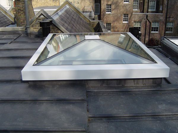 Shallow Pyramid Skylight Backyard In 2019 Skylight