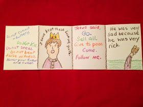 "VERSES:  Luke 18:18-27; Matthew 19:16-26; Mark 10:17-22 MEMORY VERSE:  Luke 18:23 ""And when he heard this, he was very sorrowful; f..."