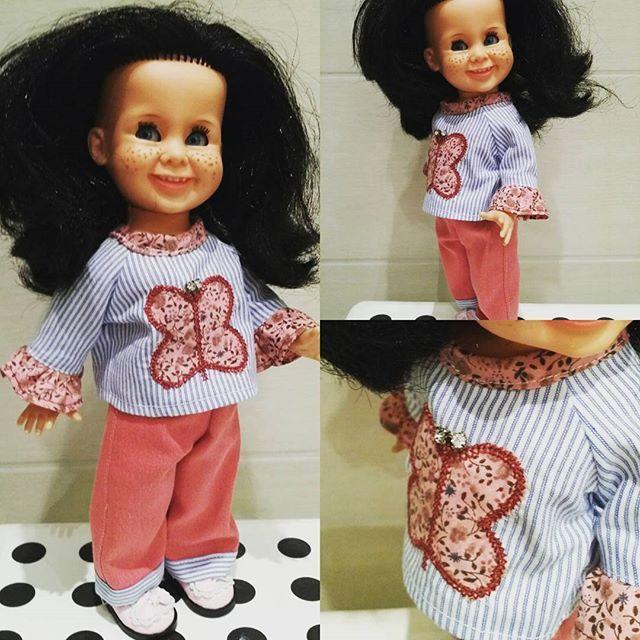 #Tjorven #vintage #rattidoll #nostalgi #dukker #dolls #homemade #hjemmesydd #tjorvenclothing