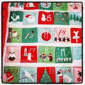 The Sewing Shop: Dashwood Studios Christmas Wish Advent Calendar Tutorial