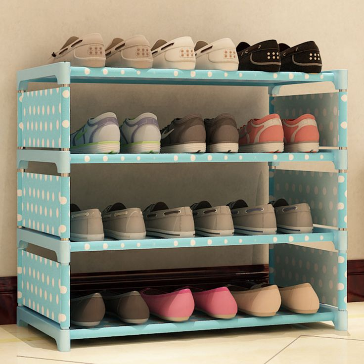 ==> [Free Shipping] Buy Best New Multifunction Shoes Rack Three Tiers Home DIY Shoes Cabinet Rack Space Saving Shoes Shelf Four Patterns #236469 Online with LOWEST Price | 32807796784