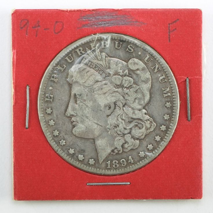 1894-O Morgan Silver Dollar