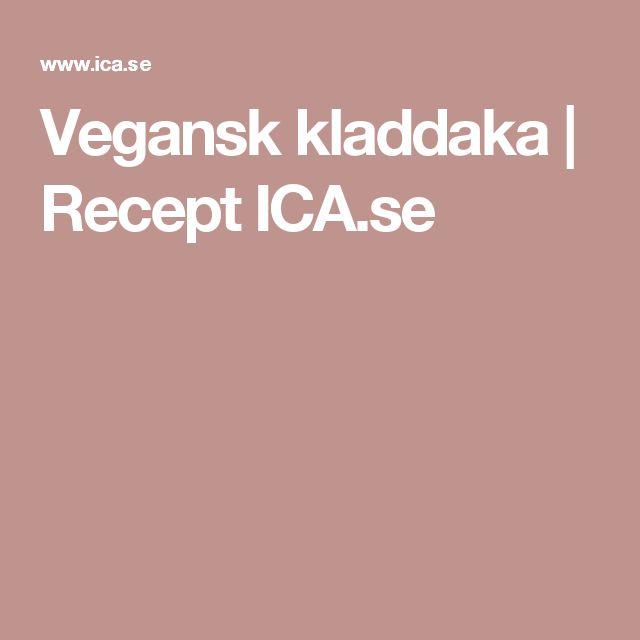 Vegansk kladdaka   Recept ICA.se