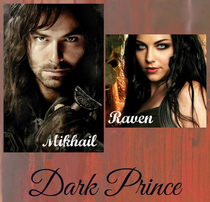 "Lifemates Mikhail and Raven from the book ""Dark Prince"""