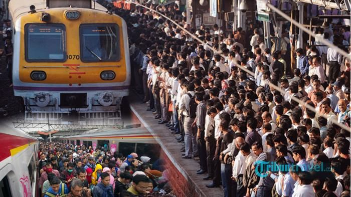 Southern Rail Mumbai India - Kejadian di Stasiun Ini Miris Banget, Perhatikan…